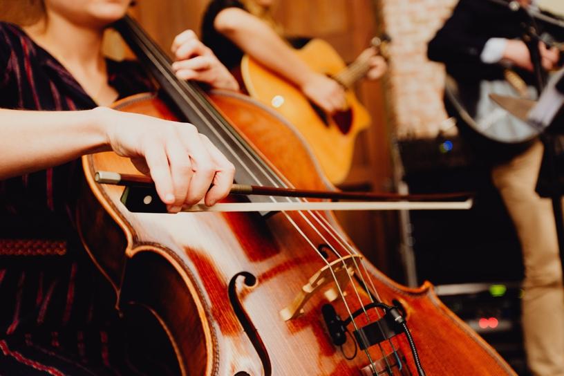 cello op trouwfeest