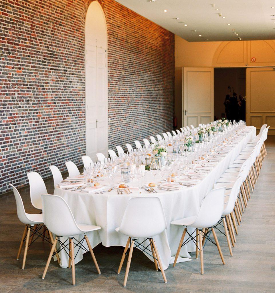 gedekte trouwtafel