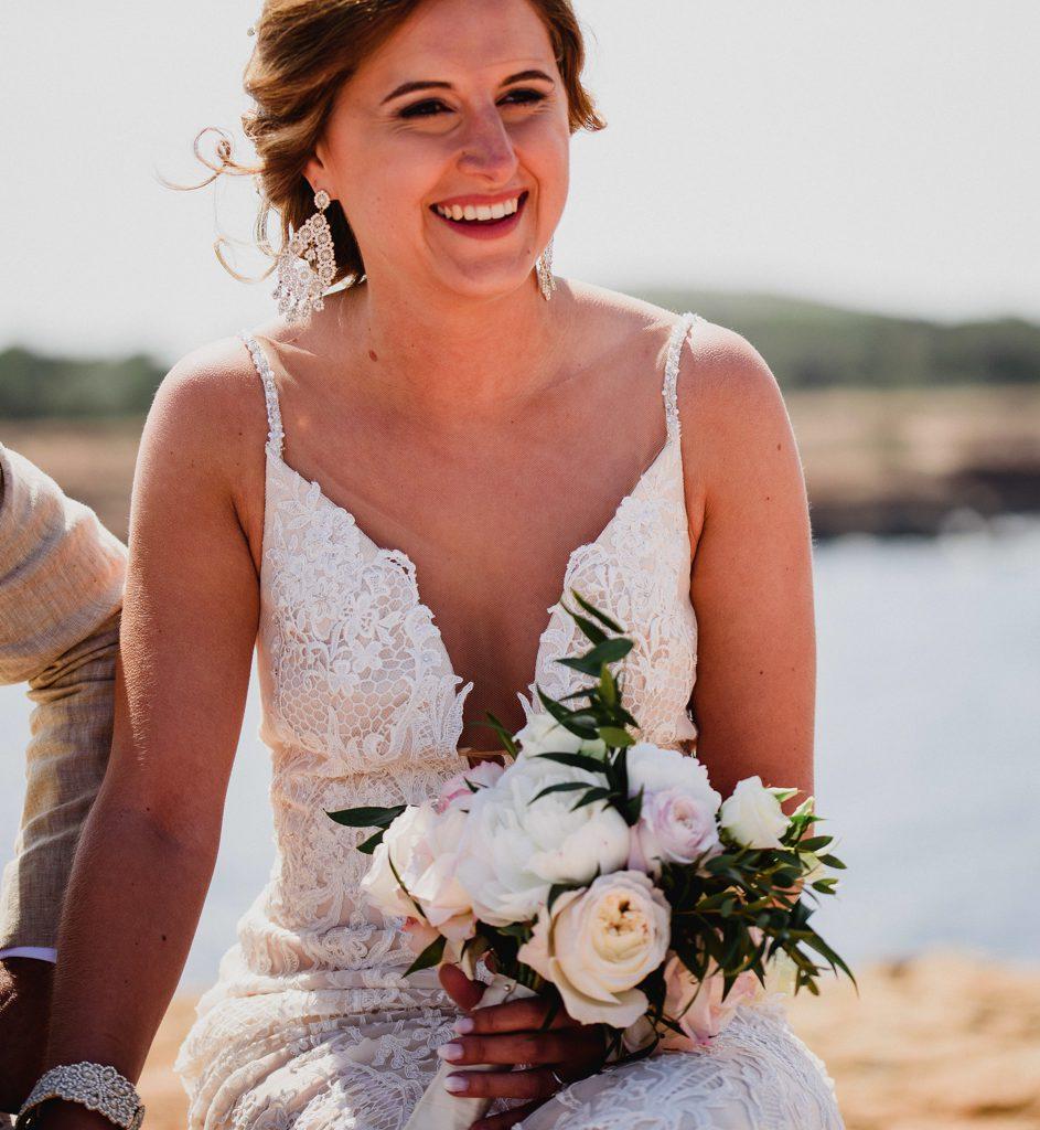 foto bruid tijdens ceremonie