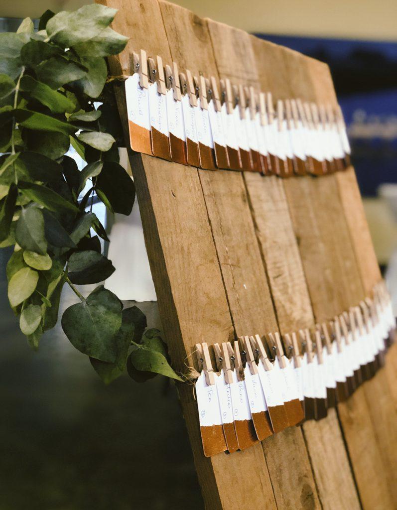houten tablechart