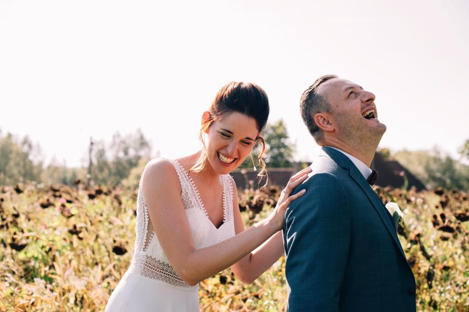 trouwfoto bruidspaar