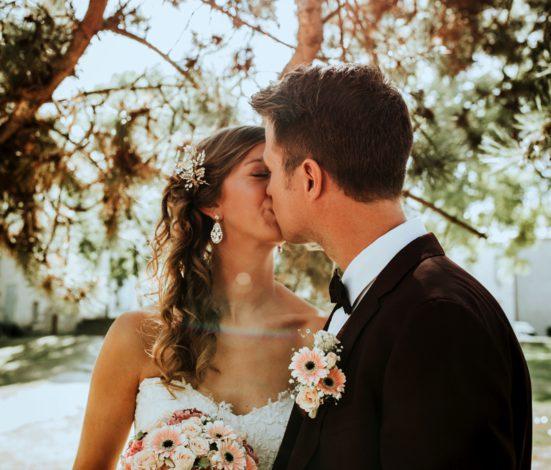 huwelijksfeest in belgië door Event'L met bruidspaar