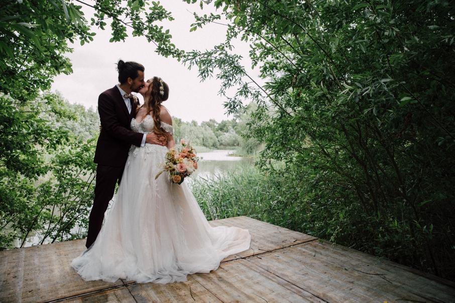 Trouwfeest huwelijk Event'L verbeke foundation met een ceremonie en storytelling