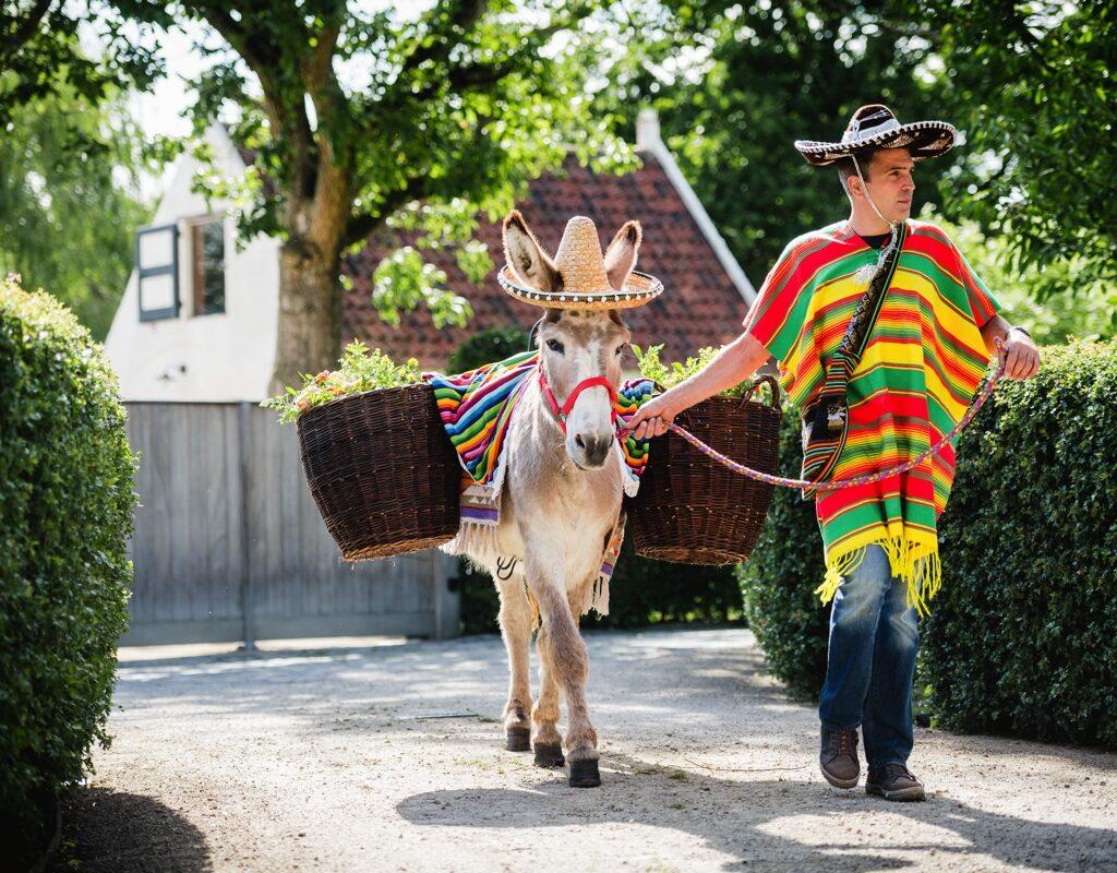 Trouwfeest in mexicaans thema nabij gent met een ceremonie