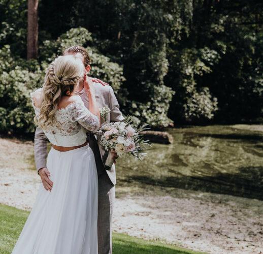 Trotse partner van Hosue of Weddings. Huwelijk van Stephanie & Philippe