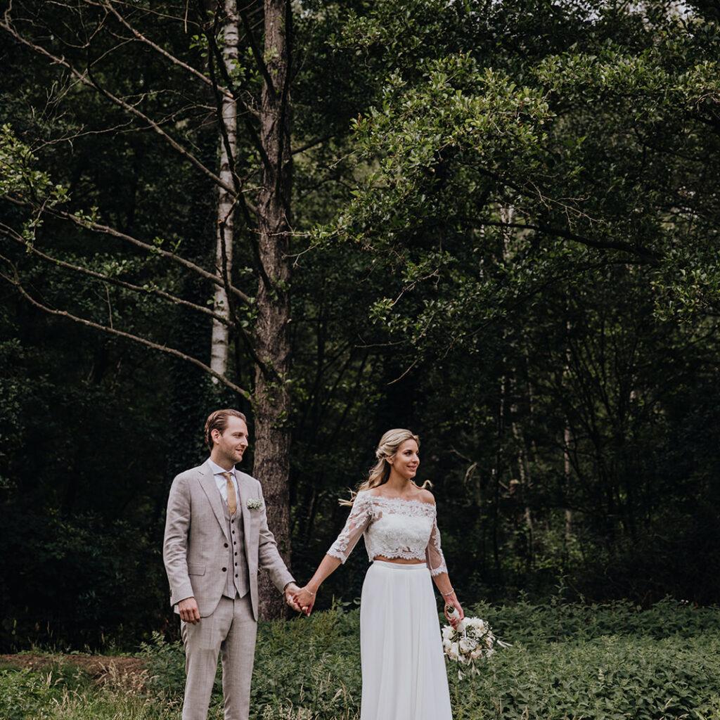 Huwelijksfoto's van het huwelijk van Stephanie & Philippe