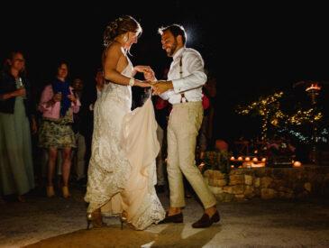 Huwelijksfeest in Ibiza Elien & Noach openingsdans / ceremonieliedjes